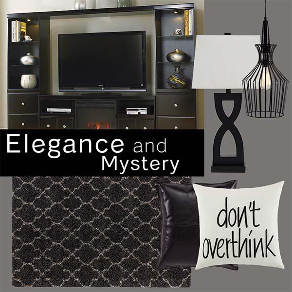 Mang đến sự hiện đại cho căn phòng của bạn với nội thất màu đen