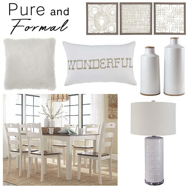 Tận hưởng cảm giác tưới mới với màu trang trong phòng khách, phòng ăn và phòng ngủ