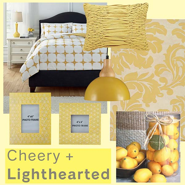 Cần cảm giác vui vẻ và lạc quan hãy chọn nội thất màu vàng trong phòng của bạn
