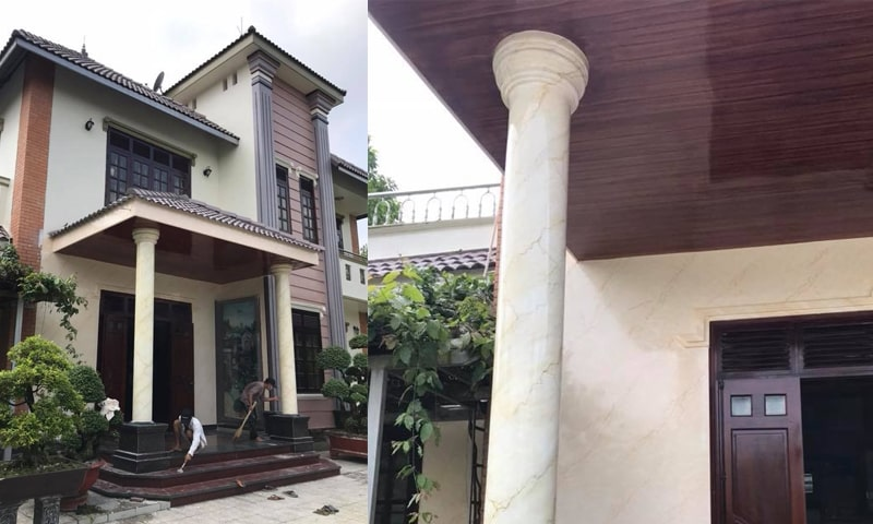 Dịch vụ sơn nhà - biệt thự long thành