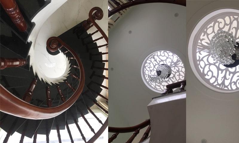 Lấy sáng tự nhiên cho cầu thang