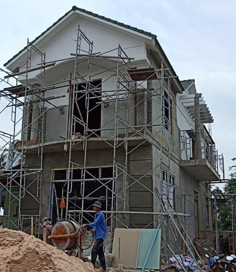 Thi công, hoàn thiện nhà A Dũng Tại Lagi Bình Thuận