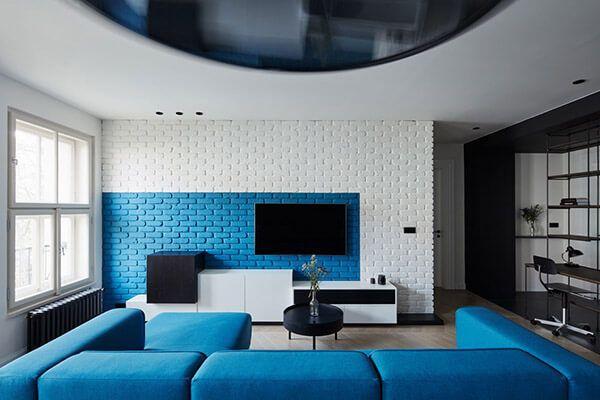 Tường trang trí tivi