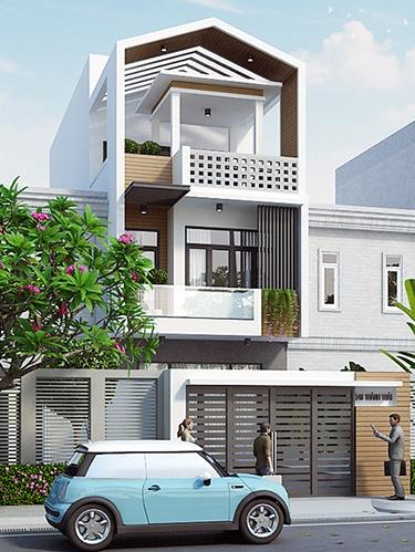 Thiết kế nhà phố ấn tượng