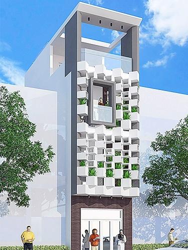 Mẫu nhà phố thiết kế đẹp