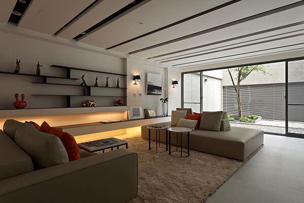 mẫu phòng khách hiện đại 17