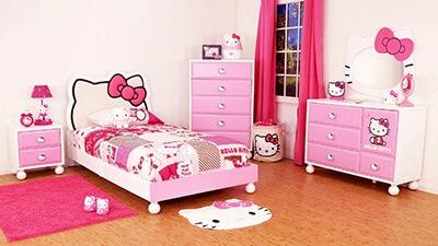 Phòng ngủ Hello Kitty
