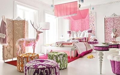 Phòng ngủ cổ tích