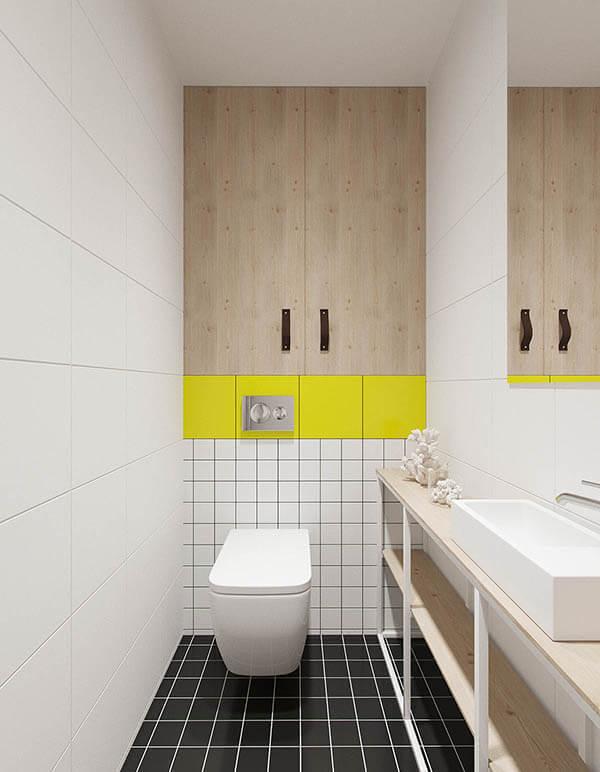 Phòng tắm đơn giản