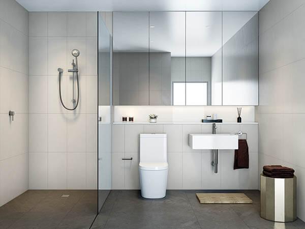 Phòng tắm đẹp đơn giản