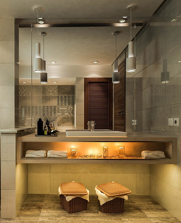 30+ Mẫu nhà vệ sinh đẹp hiện đại, đơn giản dành cho nhà phố 17