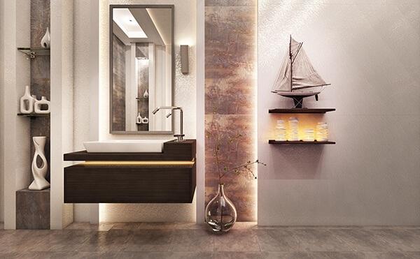 30+ Mẫu nhà vệ sinh đẹp hiện đại, đơn giản dành cho nhà phố 16