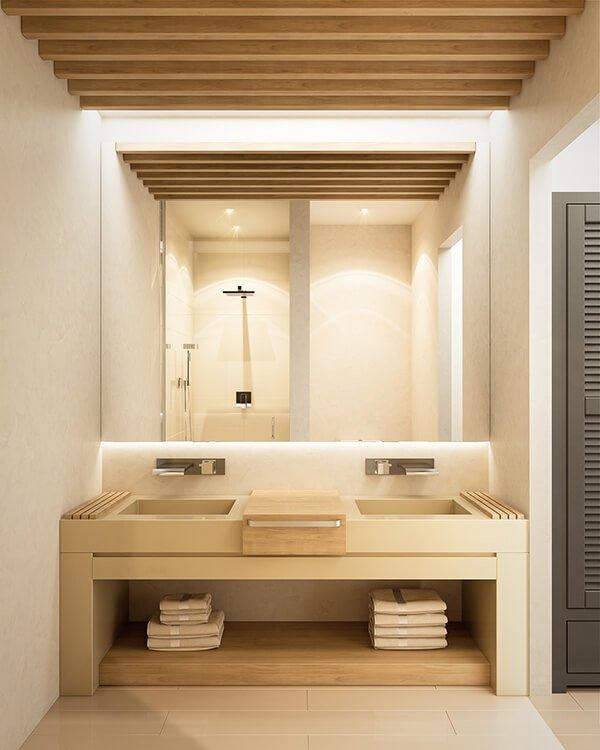 30+ Mẫu nhà vệ sinh đẹp hiện đại, đơn giản dành cho nhà phố 12