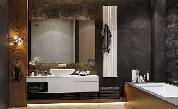 30+ Mẫu nhà vệ sinh đẹp hiện đại, đơn giản dành cho nhà phố 11