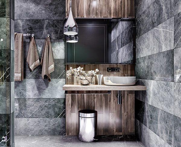 30+ Mẫu nhà vệ sinh đẹp hiện đại, đơn giản dành cho nhà phố 10