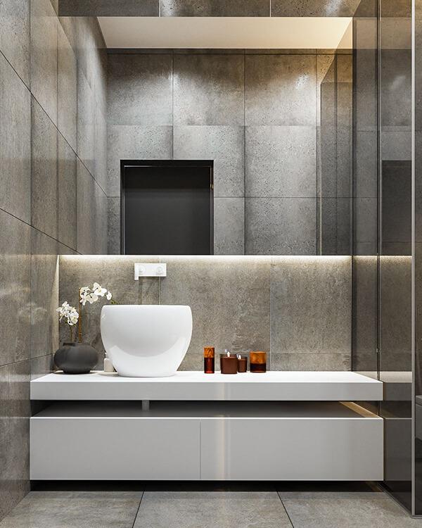 30+ Mẫu nhà vệ sinh đẹp hiện đại, đơn giản dành cho nhà phố 9