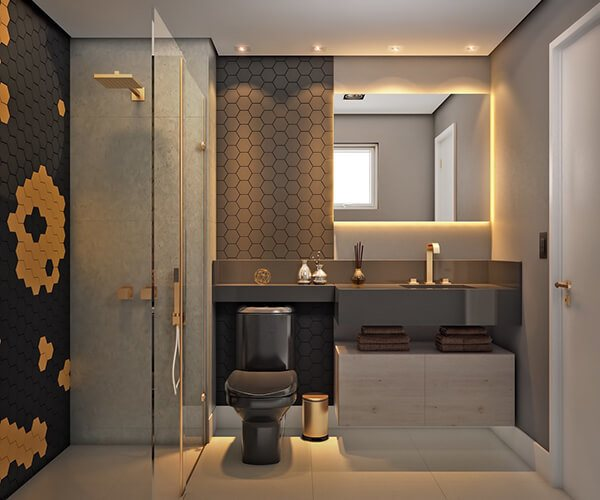 30+ Mẫu nhà vệ sinh đẹp hiện đại, đơn giản dành cho nhà phố 8