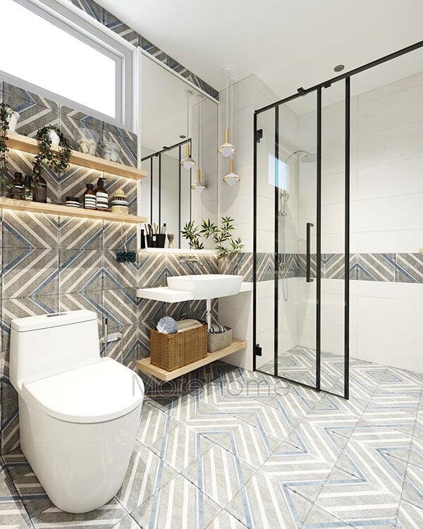 30+ Mẫu nhà vệ sinh đẹp hiện đại, đơn giản dành cho nhà phố 1