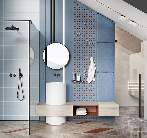 30+ Mẫu nhà vệ sinh đẹp hiện đại, đơn giản dành cho nhà phố 27