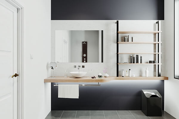30+ Mẫu nhà vệ sinh đẹp hiện đại, đơn giản dành cho nhà phố 26