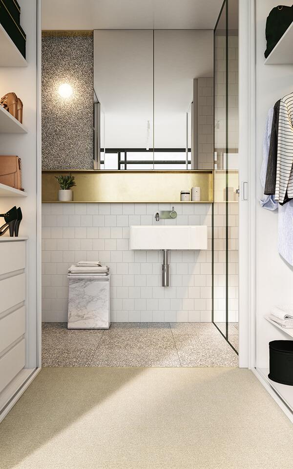 30+ Mẫu nhà vệ sinh đẹp hiện đại, đơn giản dành cho nhà phố 25