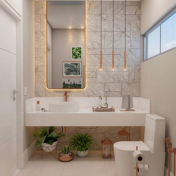 30+ Mẫu nhà vệ sinh đẹp hiện đại, đơn giản dành cho nhà phố 24