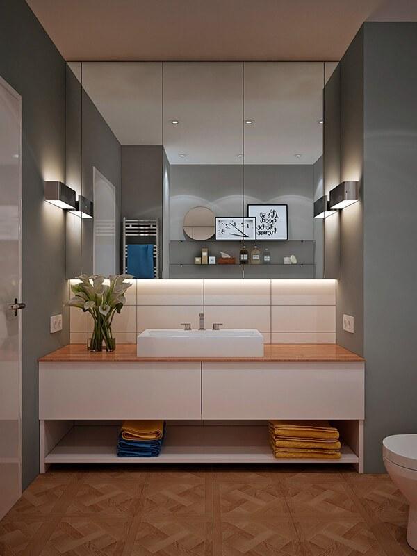 30+ Mẫu nhà vệ sinh đẹp hiện đại, đơn giản dành cho nhà phố 23