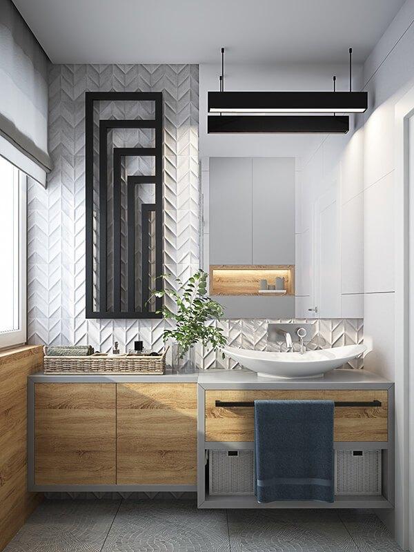 30+ Mẫu nhà vệ sinh đẹp hiện đại, đơn giản dành cho nhà phố 21