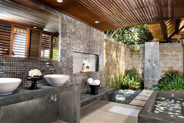 """Hòa mình vào thiên nhiên với không gian phòng tắm """"Lộ Thiên"""" 30"""