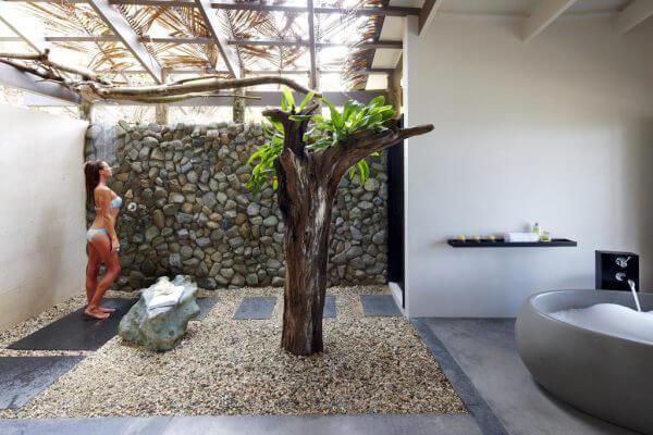 """Hòa mình vào thiên nhiên với không gian phòng tắm """"Lộ Thiên"""" 26"""