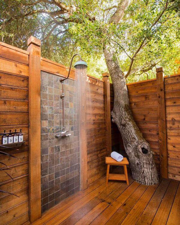 """Hòa mình vào thiên nhiên với không gian phòng tắm """"Lộ Thiên"""" 18"""