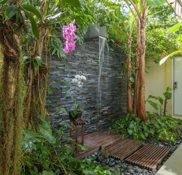 """Hòa mình vào thiên nhiên với không gian phòng tắm """"Lộ Thiên"""" 15"""