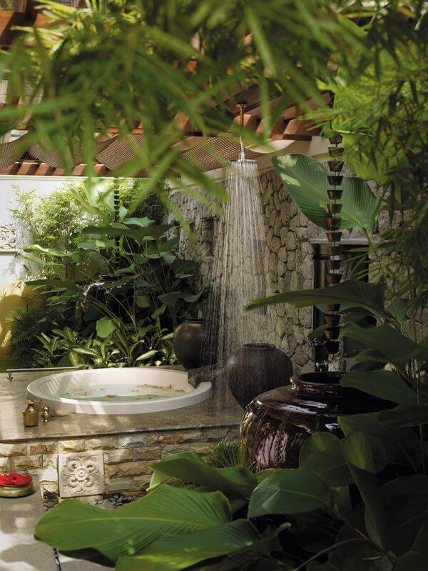 """Hòa mình vào thiên nhiên với không gian phòng tắm """"Lộ Thiên"""" 12"""