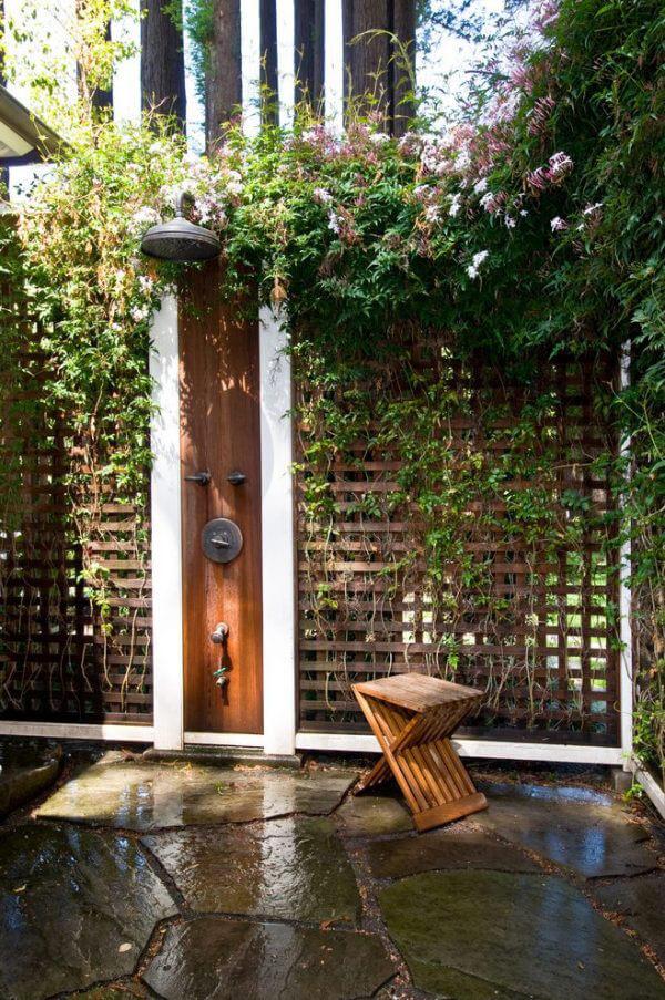 """Hòa mình vào thiên nhiên với không gian phòng tắm """"Lộ Thiên"""" 8"""