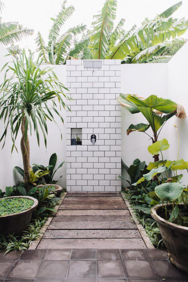 """Hòa mình vào thiên nhiên với không gian phòng tắm """"Lộ Thiên"""" 4"""