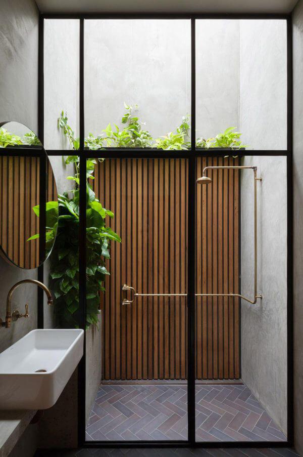 """Hòa mình vào thiên nhiên với không gian phòng tắm """"Lộ Thiên"""" 3"""
