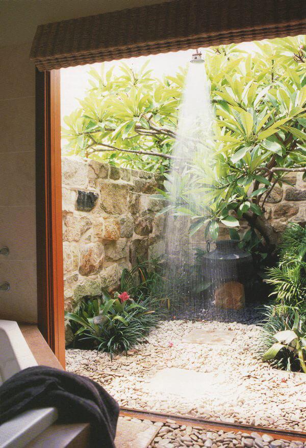 """Hòa mình vào thiên nhiên với không gian phòng tắm """"Lộ Thiên"""" 38"""
