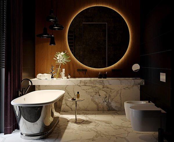 50 Hình ảnh phòng tắm sang trọng, đẳng cấp, đẹp lôi cuốn 16