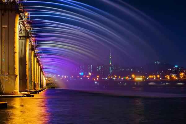Đài phun nước Banpo Moonlight Rainbow