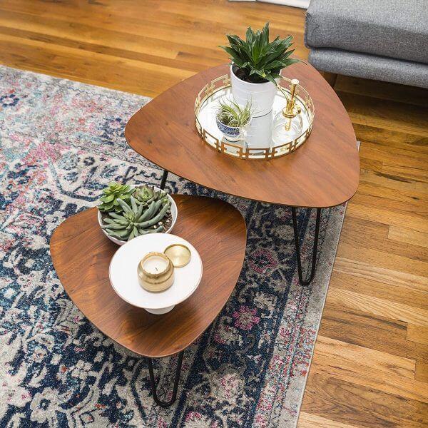 Bàn trà phong cách scandinavia