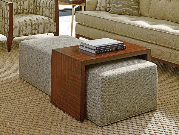 Bàn sofa gỗ trượt