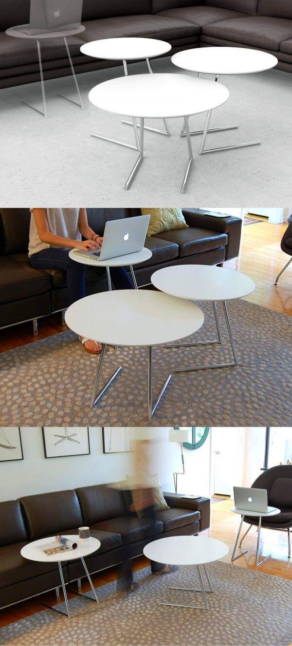 Bộ 3 bàn sofa đa năng