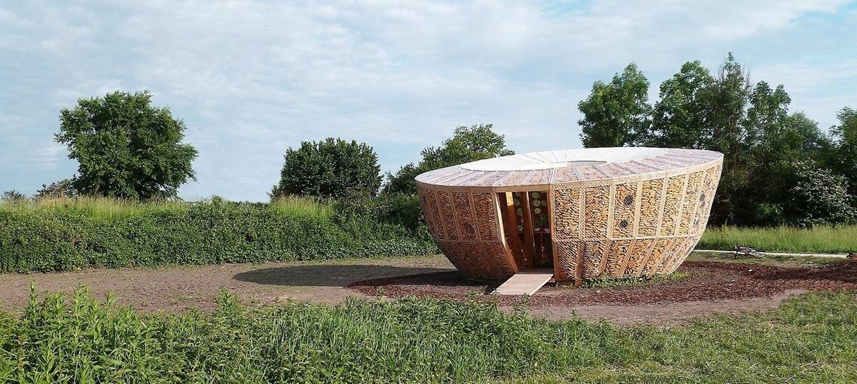 Nhà ngô Ecological Pavilion