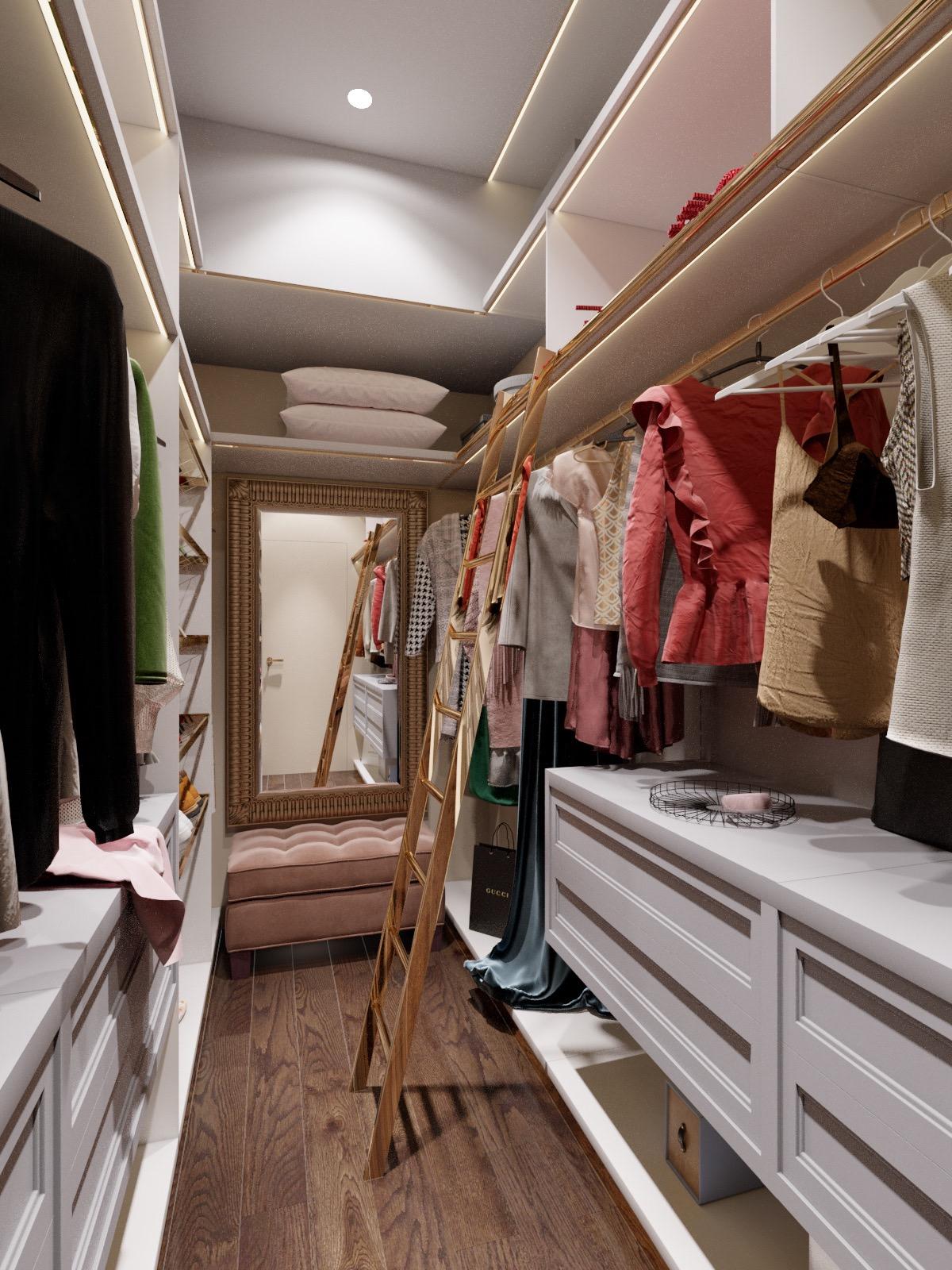 Nội thất căn hộ 70m2 tuyệt đẹp với thiết kế bán cổ điển 13