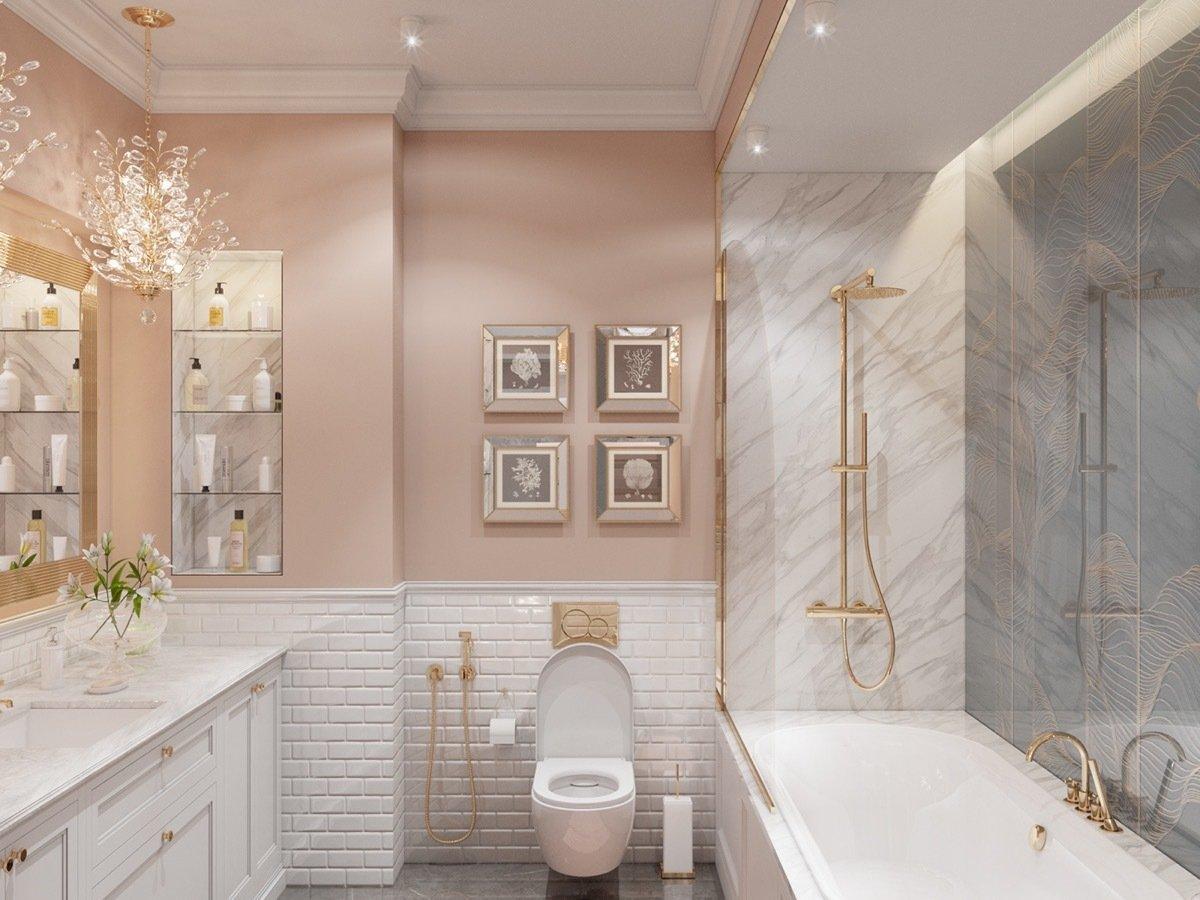 Nội thất căn hộ 70m2 tuyệt đẹp với thiết kế bán cổ điển 14