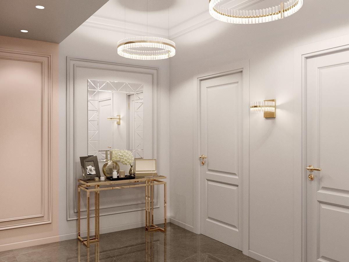 Nội thất căn hộ 70m2 tuyệt đẹp với thiết kế bán cổ điển 7