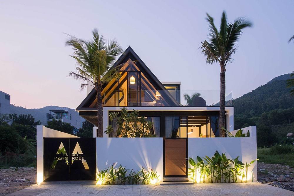 Maison Mansardee – Villa Tuyệt Đẹp Dưới Chân Núi Sơn Trà 11