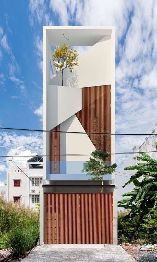 25 Ý tưởng thiết kế nhà phố 3 tầng đẹp khiến bạn nao lòng 24