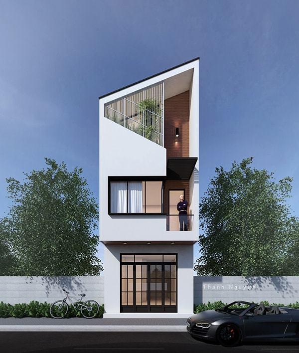 25 Ý tưởng thiết kế nhà phố 3 tầng đẹp khiến bạn nao lòng 15