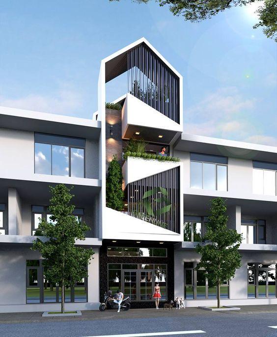 25 Ý tưởng thiết kế nhà phố 3 tầng đẹp khiến bạn nao lòng 13